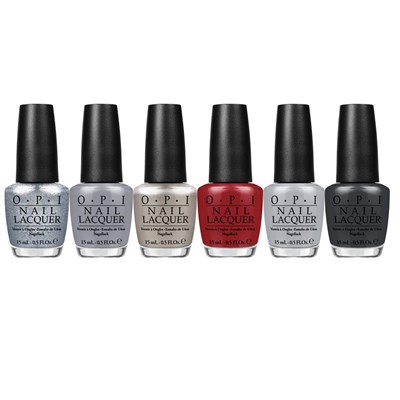 OPI Lacquer Fifty Shades of Grey Collection