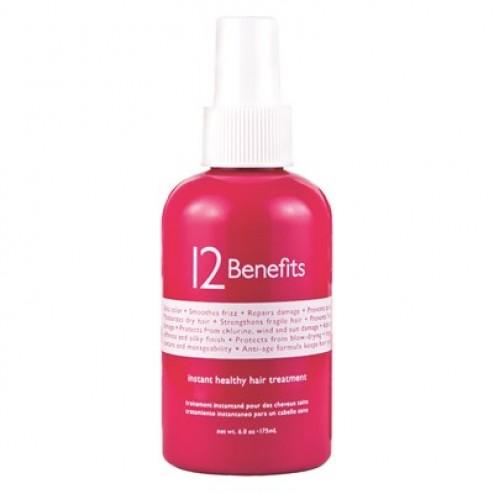 12 Benefits Instant Healthy Hair Treatment 6.0 Oz.