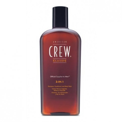 American Crew 3-in-1 Shampoo, Conditioner, Body Wash 3.3 Oz