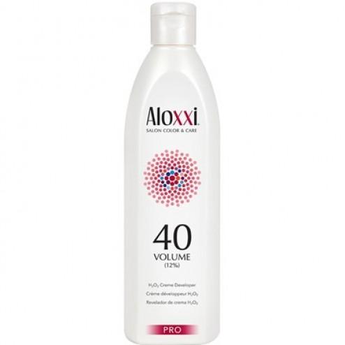 Aloxxi 40 V Creme Developer 16.9 Oz