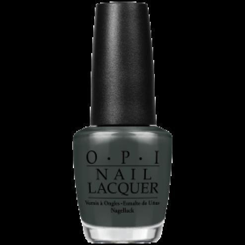 "OPI Lacquer ""Liv"" In The Gray W66 0.5 Oz"