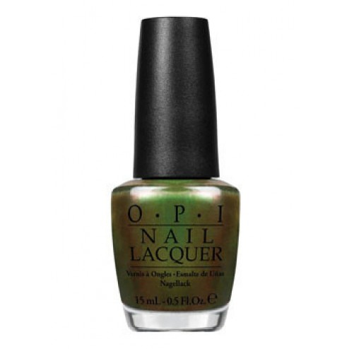 OPI Lacquer Green on the Runway C18 0.5 Oz