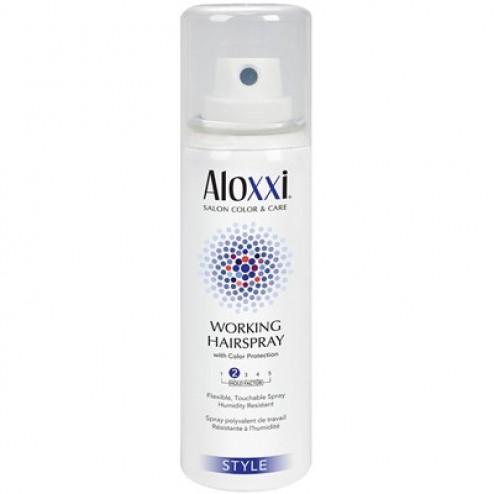 Aloxxi Working Hairspray 1.5 Oz