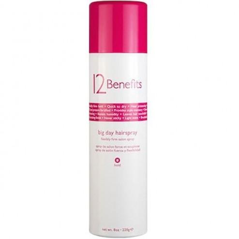 12 Benefits Big Day Hairspray 8 Oz