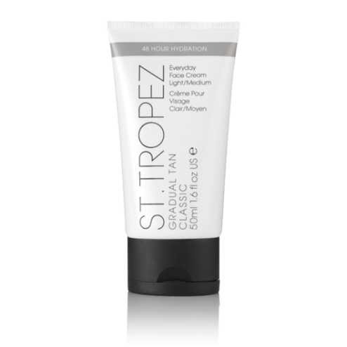 St. Tropez Gradual Tan Face Moisturiser, Light/Medium