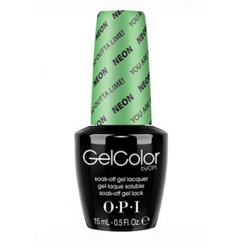 GelColor You Are So Outta Lime! GCN34 0.5 Oz