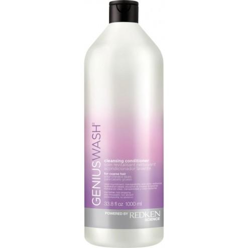 Redken Genius Wash Cleansing Conditioner for Coarse Hair 33.8 Oz