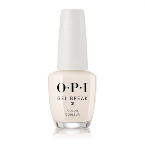 OPI Gel Break Sheer Color Barely Beige NTR05 0.5 Oz