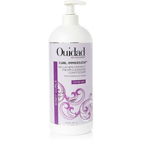 Ouidad Curl Immersion Coconut Cream Cleansing Conditioner