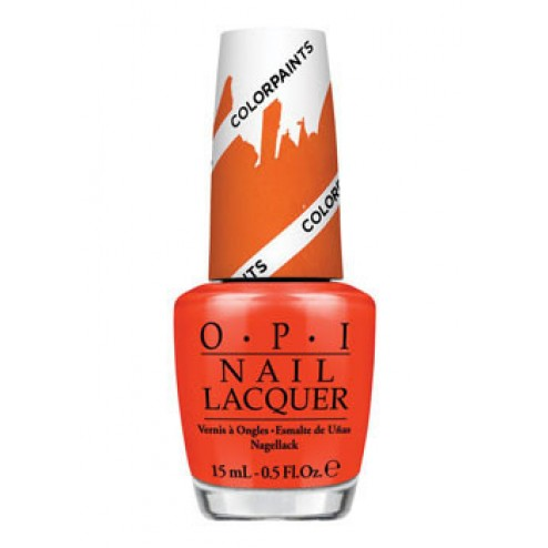 OPI Lacquer Chromatic Orange P21 0.5 Oz