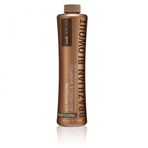 Brazilian Blowout Acai Anti-Residue Shampoo 34 oz.