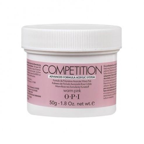 OPI Competition Powder Warm Pink 1.76 Oz