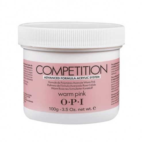 OPI Competition Powder Warm Pink 3.52 Oz