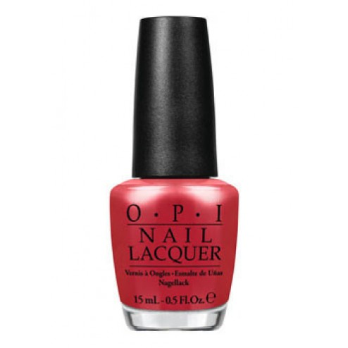 OPI Lacquer Go with the Lava Flow H69 0.5 Oz