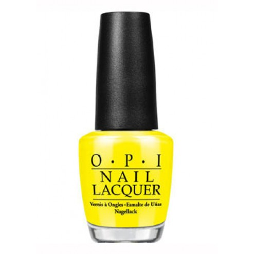 OPI Lacquer No Faux Yellow BB8 0.5 Oz