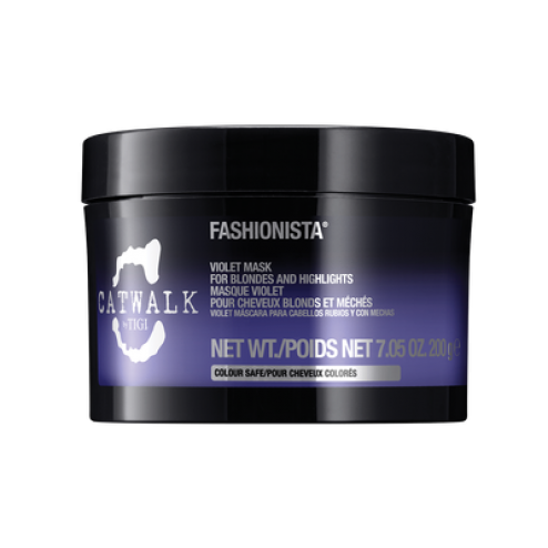 TIGI Fashionista Violet Mask For Blondes, Highlights