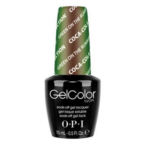 GelColor Green on the Runway GCC18 0.5 Oz