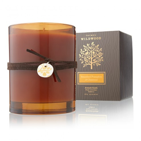 Thymes Brandied Pumpkin and Chestnut Candle