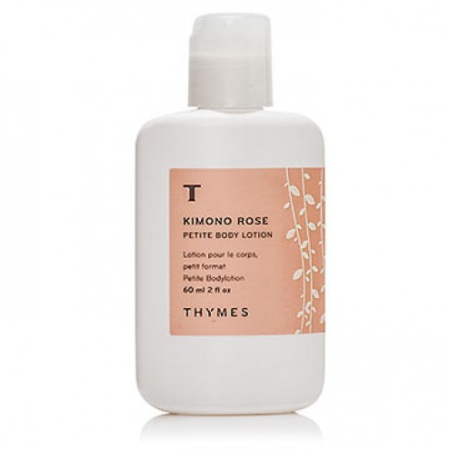 Thymes Kimono Rose Petite Body Lotion 2 fl oz - 60 ml