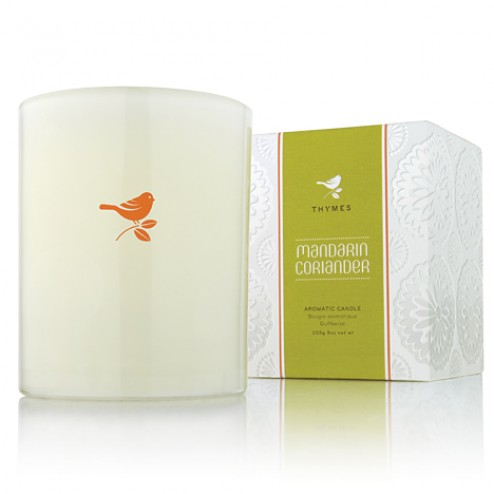 Thymes Mandarin Coriander Candle