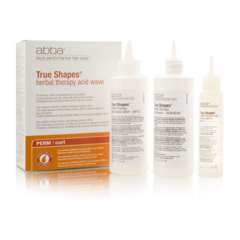 Abba True Shapes Acid Perm Kit