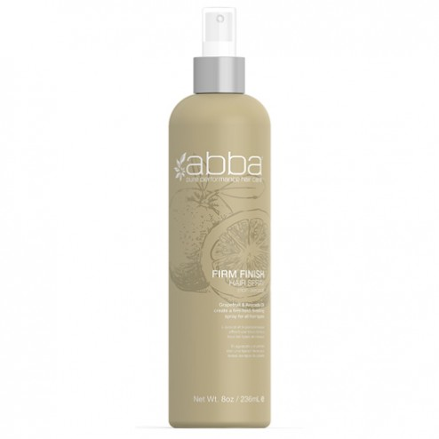 Abba Firm Finish Spray 8 Oz