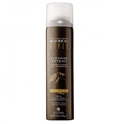 Alterna Bamboo Dry Shampoo Sugar Lemon Scent 4.75 oz