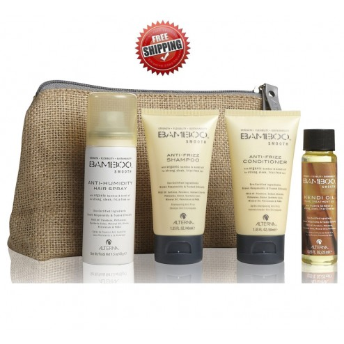 Alterna Bamboo Smooth On The Go Travel Kit