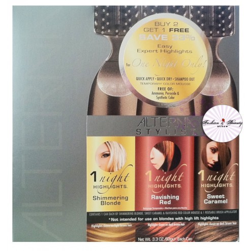 Alterna 1 Night Highlights Buy 2 Get 1 Free Kit