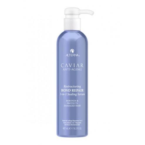 Alterna Caviar Anti-Aging Restructuring Bond Repair 3-in-1 Sealing Serum 16 Oz