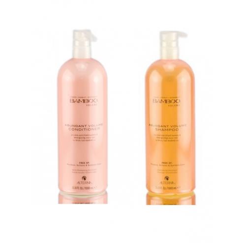 Alterna Bamboo Abundant Volume Shampoo And Conditioner Duo (8.5 Oz Each)