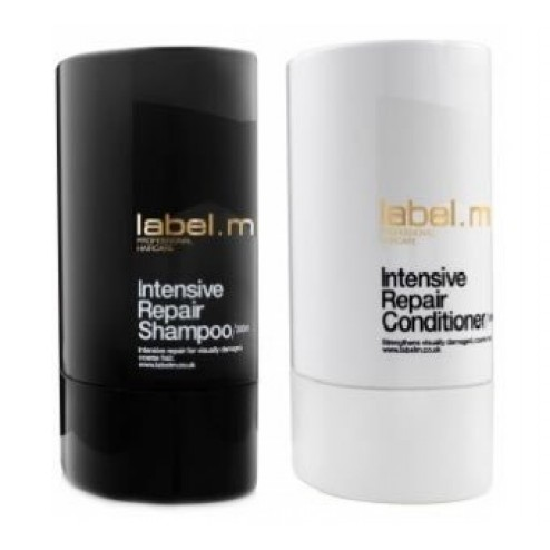 Label.m Intensive Repair Shampoo And Conditioner Duo (10.1 Oz each)