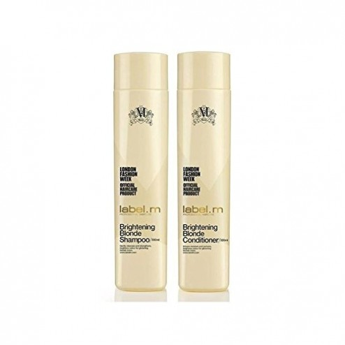Label M Brightening Blonde Shampoo And Conditioner Duo (10.1 Oz each)
