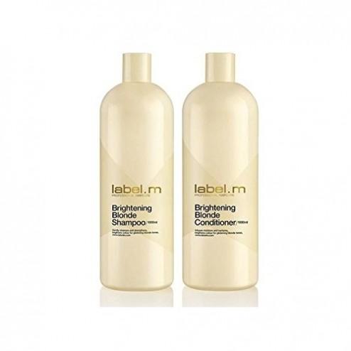 Label.M Brightening Blonde Shampoo And Conditioner Duo (33.8 Oz each)
