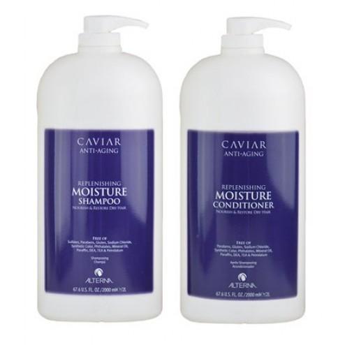 Alterna Caviar DUO Moisture Shampoo and Conditioner (67.6 Oz each)