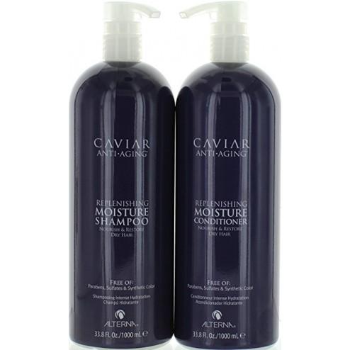 Alterna Caviar Replenishing Moisture Shampoo And Conditioner Duo (33.8 Oz each)