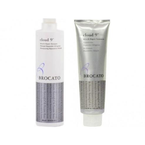 Brocato Cloud 9 Miracle Repair Shampoo 10 Oz And Treatment 5.25 Oz