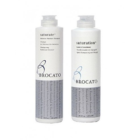 Brocato Saturate Intensive Moisture Shampoo 10 Oz And Leave-In Conditioner 8.5 Oz