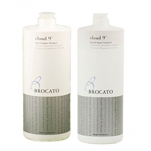 Brocato Cloud 9 Miracle Repair Shampoo And Treatment Duo (33.8 Oz each)