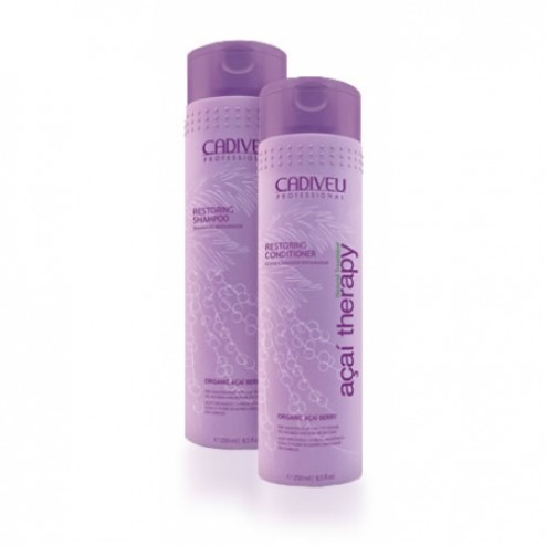 Cadiveu Acai Therapy Restoring Shampoo and Conditioner DUO 8.5 oz