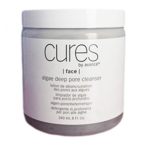 Cures by Avance Algae Deep Pore Cleanser 8 Oz