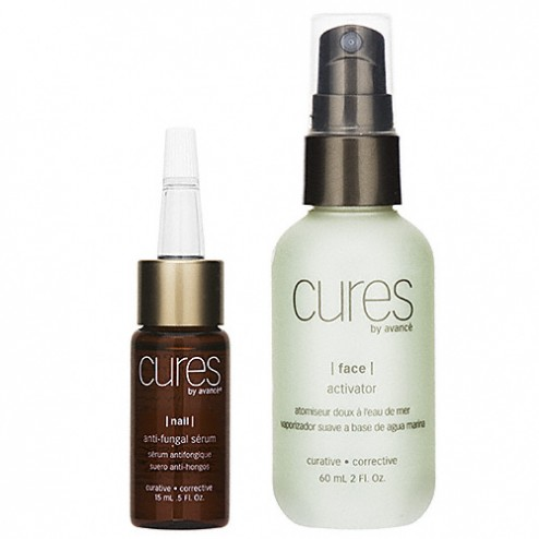 Cures by Avance Anti Fungal Serum and Activator