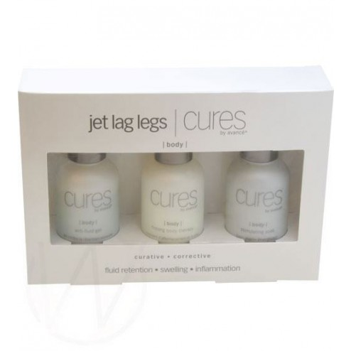 Cures by Avance Jet Lag Legs Cures To Go Kit