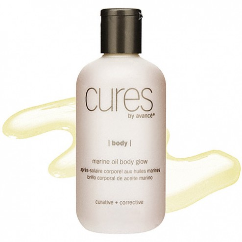 Cures by Avance Marine Oil Body Glow 8 Oz