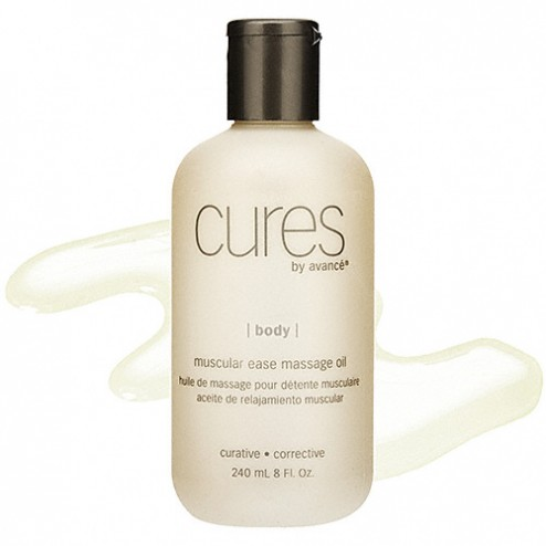 Cures by Avance Muscular Ease Massage Oil 8 Oz