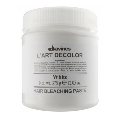 Davines L'art Decolor White Hair Bleach Paste 375 gr