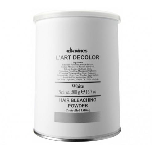 Davines L'art Decolor White Hair Bleach Powder 500 gr