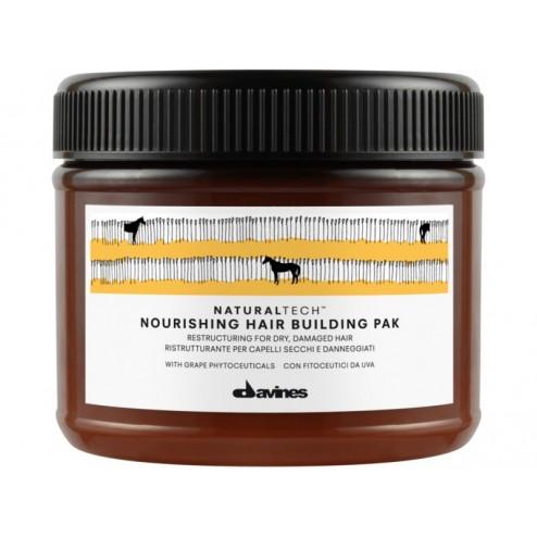 Davines Natural Tech Nourishing HairBuilding Pak 6.7 oz