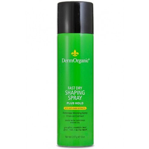 DermOrganic Fast Dry Shaping Spray Plus Hold 8 oz