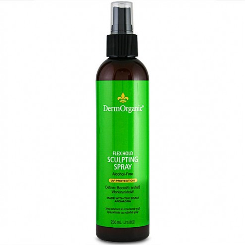 DermOrganic Flex Hold Sculpting Spray 8 oz